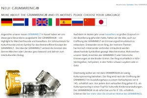 Going global: GRIMMRING-Infos in neun Sprachen
