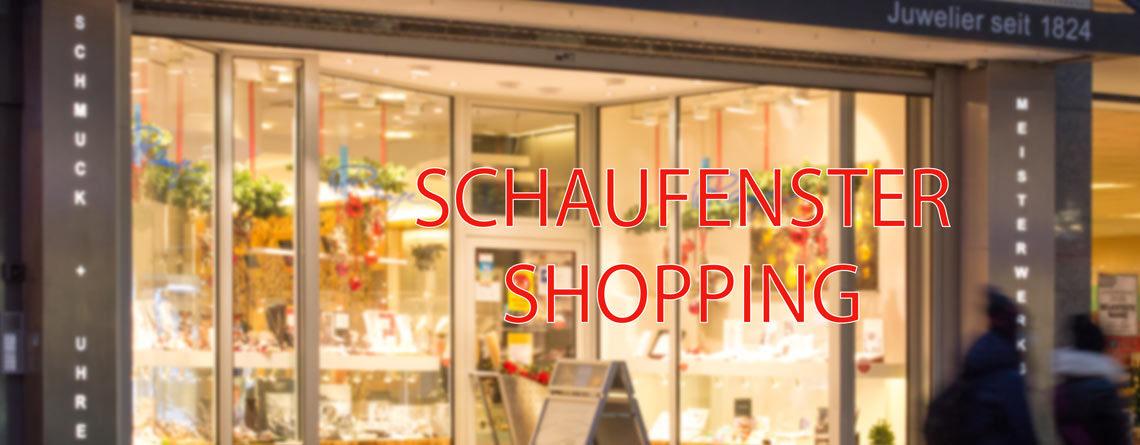 Schaufenster Shopping – sicher einkaufen trotz Lockdown
